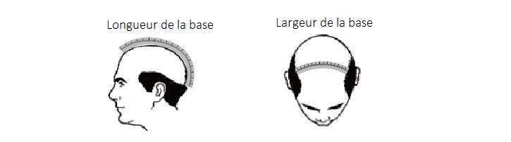 Mesures de la base